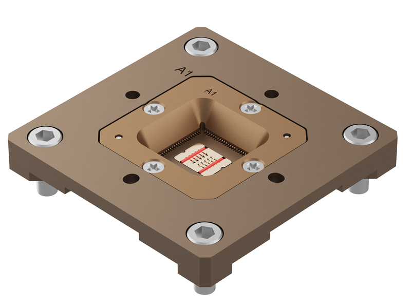 Joule 20 Test Socket Provides First-Class Performance for Peripheral IC Test