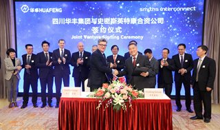 Sichuan Huafeng sign Joint Venture