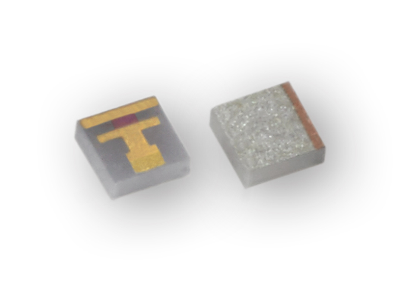 High performance wire bondable chip terminations
